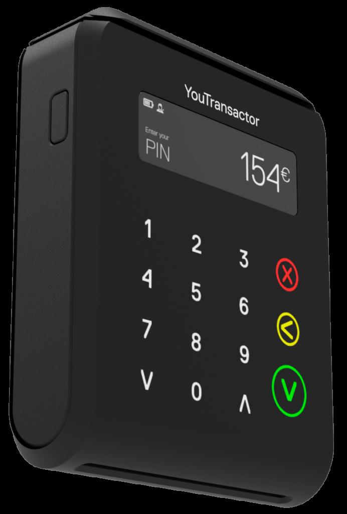 uCube- Terminal de pagamento movil  leve
