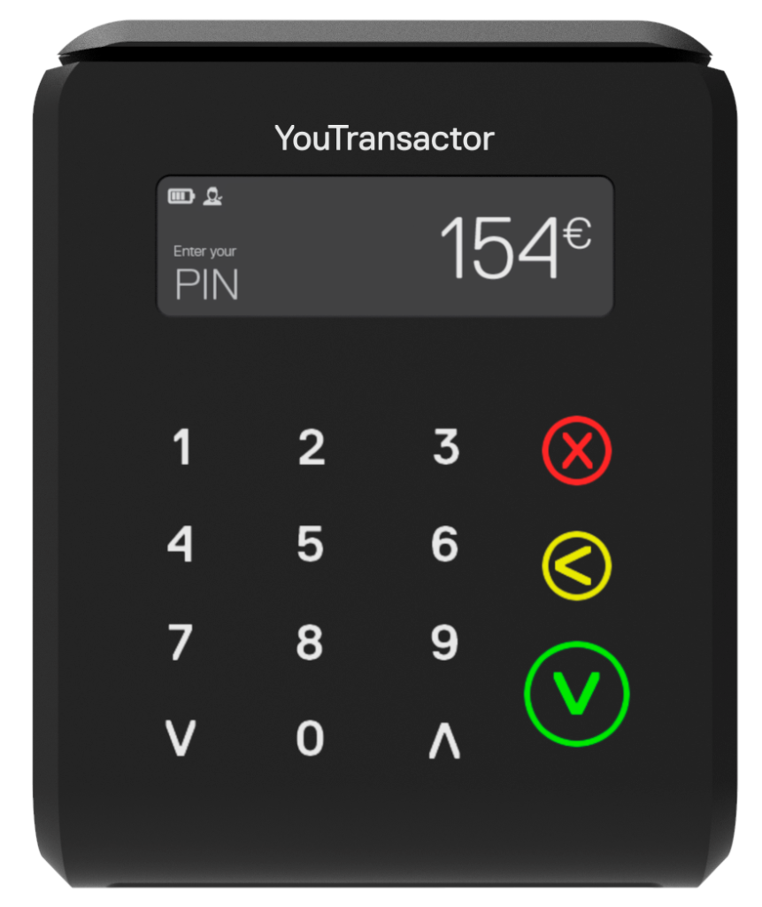uCube- Light-weight, compact and portable payment terminal to accept card payments