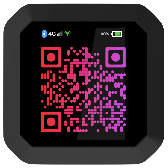 uCube Touch- Colour display- QR payments